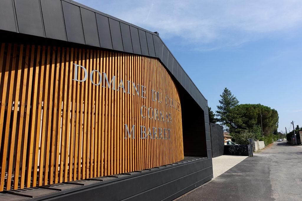 2018 - Cave viticole à Cornas (Ardèche)