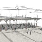 2012 - Concours pour la construction d'une halle place Taillade à Pierrelatte (Drôme)